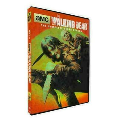 The Walking Dead season 10 (DVD, 5-Disc Set) New Sealed. Free and Fast Shipping!