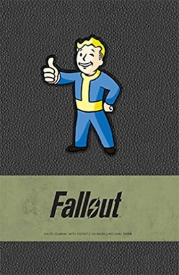 Bethesda Softwo-Fallout Hardcover Ruled Journal (Uk Import) Book New