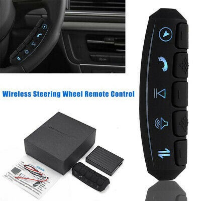 12V Car Steering Wheel Button Wireless Remote Control Kit For Stereo DVD GPS