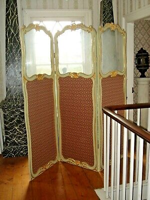 Antique Screen, Room Divider, Large. Kent Tn12 9Rs