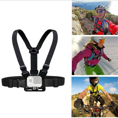 Chest Strap Adjustable Harness Mount For GoPro HERO 1/2/3+/4/5/6/7 Action Camera