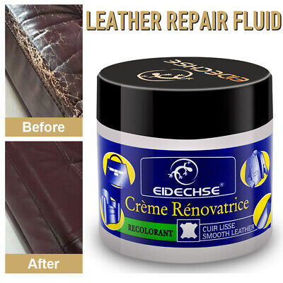 EIDECHSE Leather Repair Cream Liquid Restoration Tool For Car Seat Sofa Coat ...