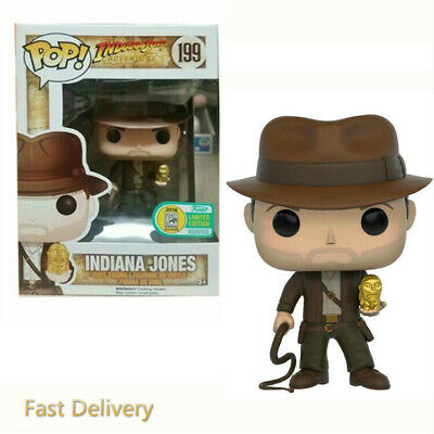 Funko Pop #199 Indiana Jones Vinyl Action Figures brinquedos Toys UK SELLER