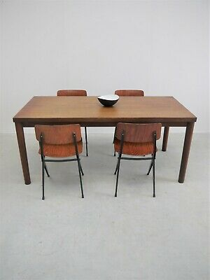 1950s ORIGINAL VINTAGE FRENCH TABLE MIDCENTURY DESIGN PERRIAND CHAPO JEANNERET