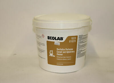 Ecolab 6110379 Revitalize Perfusion Carpet & Upholstery Cleaner - 10 lb
