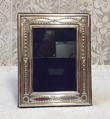 Sheffield 1993 Hallmarked Solid Silver Photograph Frame By Carrs Of Sheffield