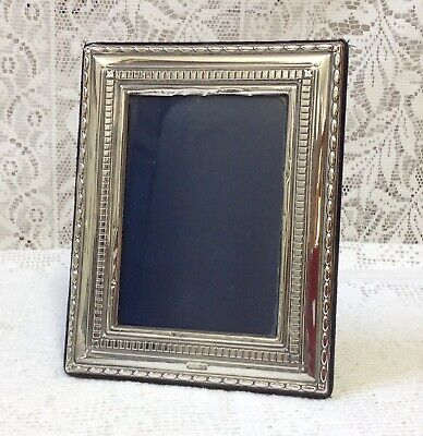 Sheffield 1992 Hallmarked Solid Silver Photograph Frame By Carrs Of Sheffield