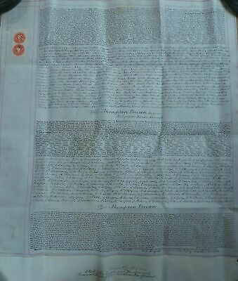 Victorian 1892 Commission Of The Peace Vellum - Armagh Ireland - Robert Peel