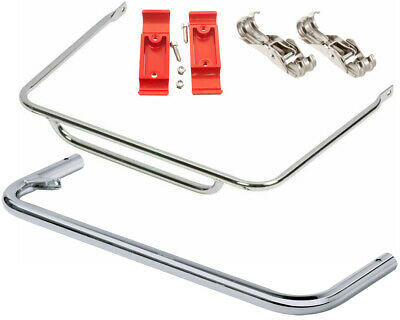 Go Kart OTK / Tonykart Nosecone Bar Set With Clamps And Spring Clips CIK Legal