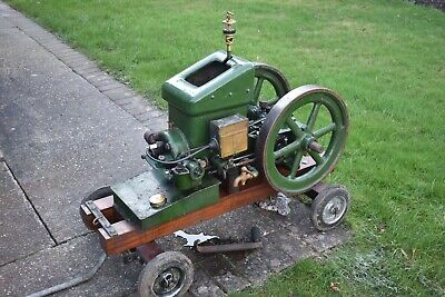 Witte open crank Stationary engine