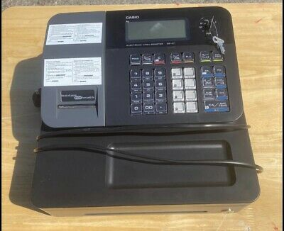 Casio SE-G1 Electronic Cash Register Till With Two Keys