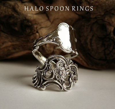 Norwegian Sterling Silver Pickle Fork Ring Fancy Pattern Only One Available!!