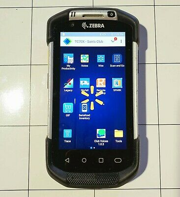 Zebra Tc70x TC700K Android Mobile Barcode Scanner (sams club Software)