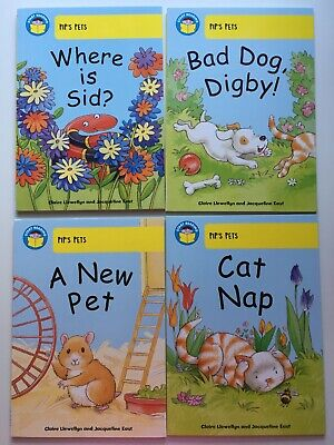 Start Reading, Level 3, Collection of 4 Books, Pip's Pets, Book Band 3
