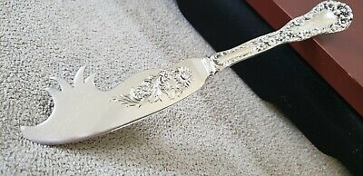 """RARE DOMINICK & HAFF 7 1/4"""" STERLING BUTTER KNIFE/PICK SOLID #10 PATTERN 1.7ozt."""