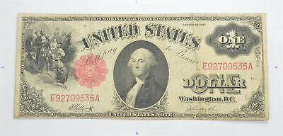 Seldom Seen! 1917 - Red Seal - Legal Tender $1.00 United States Note *455