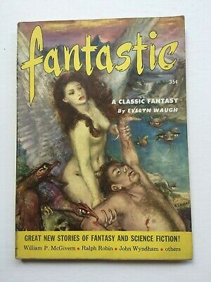 Fantastic - US SF & Fantasy digest - July - August 1953 - John Wyndham etc