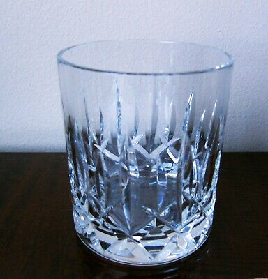 Waterford Irish Crystal Tumbler - Single Bar! Made in Ireland, Signed