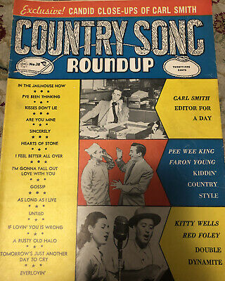 Country Music Roundup~May '55 Carl Smith, Pee Wee King, Faron Young, Kitty Wells