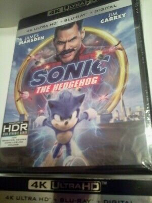 Sonic The Hedgehog 2020 4K Ultra HD Dvds