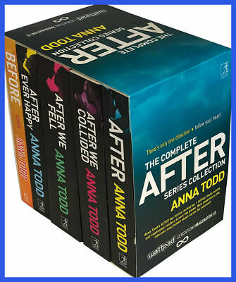 The Complete After Series Collection 7 Books by Anna Todd (E-version) 📩