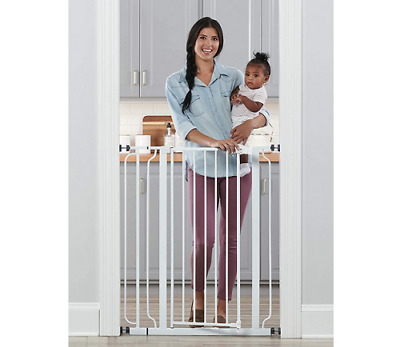 Regalo 29-36.5 inchs Easy Step Extra Tall Walk Thru Baby Gate,4-Inch,4 Pack Kit