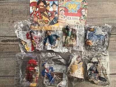 Mcdonalds The Pirates In An Adventure With Scientists Complete Set Toys Figures