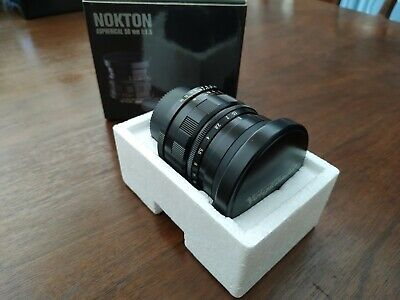 Voigtlander Nokton 50mm F1.5 Aspherical Screw Mount