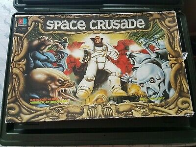 Space Crusade Board Game Box & Spare Parts ( See Pictures)