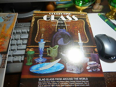 Collecting Glass book Volume 1 William Heacock 1984 old estate antique reference