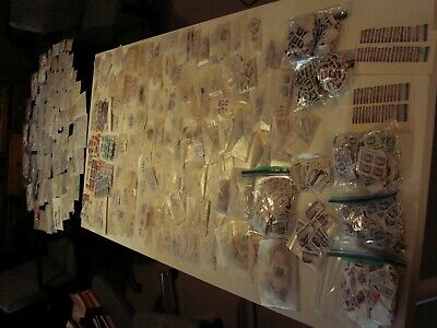 Canada - Huge Lot Of 4 Lbs. Off Paper Sorted In Glassines And Baggies 1000'S!!