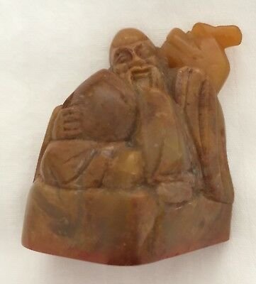 Chinese Soapstone Carved Seal Chop