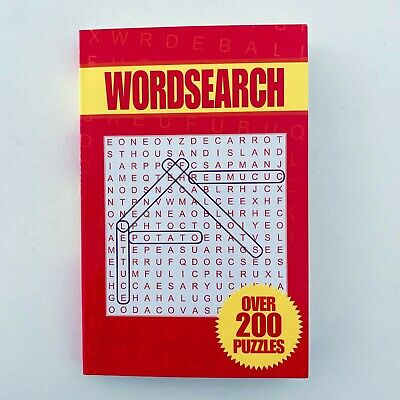WORDSEARCH over 200 Puzzles with Answers BRAND NEW