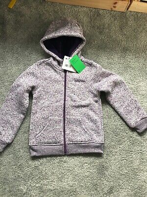 NEW Mountain Warehouse Snuggle Fleece Lined Hoodie 7-8Yrs BNWT Jacket Sweatshirt