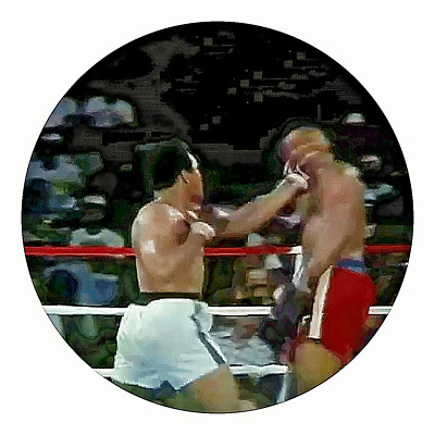 Muhammad Ali Silver 3D Coin George Forman Moving Image Fight of the Century Old