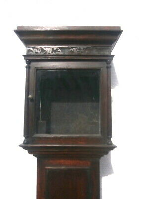12 inch square oak longcase clock case c1740