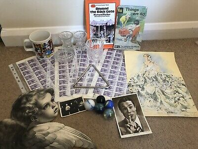 Joblot Attic Curio Finds Mixed Lot of Antique Vintage Collectables and Curios
