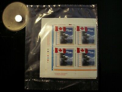 Canada -  #1546 (43 Cent) Canada Flag Un-Opened Matched Set Of Plate Blocks