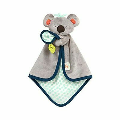 B. Toys – B. Snugglies - Fluffy Koko The Koala Security Blanket – Adorable Baby