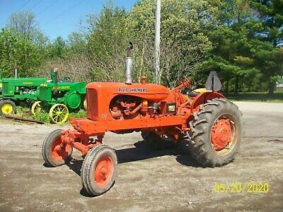 Allis Chalmers WD Antique Tractor NO RESERVE Wide Front nice deere farmall 45 b