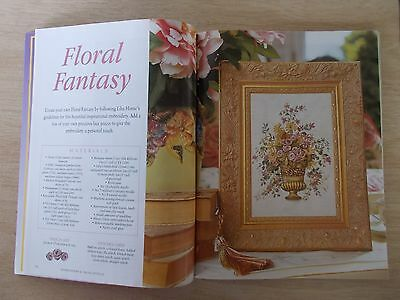 Embroidery & Cross Stitch Vol 9 #9~Special Edition~Elegant Ribbon Embroidery