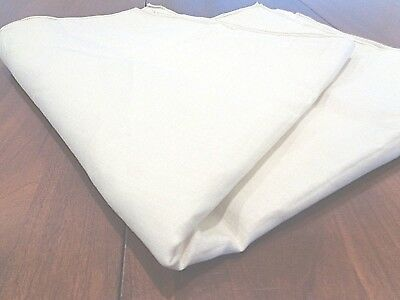 """Collection of 5 Antique 100% linen napkins 22"""" square NEW"""