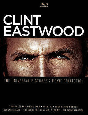 BLU-RAY Clint Eastwood: The Universal Pictures 7-Movie Collection (Blu-Ray) NEW