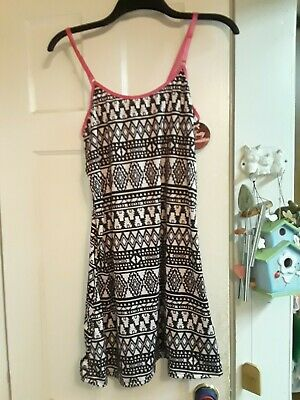 NEW PRETTY NECESSITY AZTEC BLACK NIGHTGOWN size XL XLARGE JUNIOR WOMEN PJ NWT