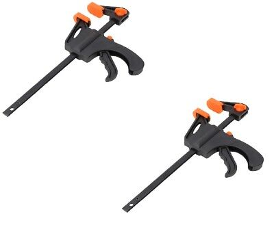 """12/"""" Ratchet Speed Clamp Jaw Opening Strong Lightweight Quick Grip 300Mm Clamping"""