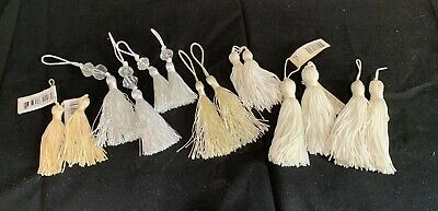 Cream And white Tassels- Assorted . Home Furnishing . cushions