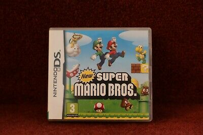 New Super Mario Bros (Nintendo DS, 2006), Excellent Condition, One Owner