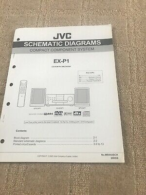 JVC EX-P1 service manual For Compact Component System