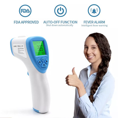 Digital Infrared Non-contact Thermometer with LED Display Free Shipping