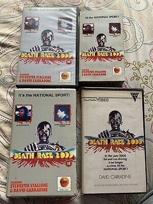 Ex Rental Vhs Death Race 2000 Collection